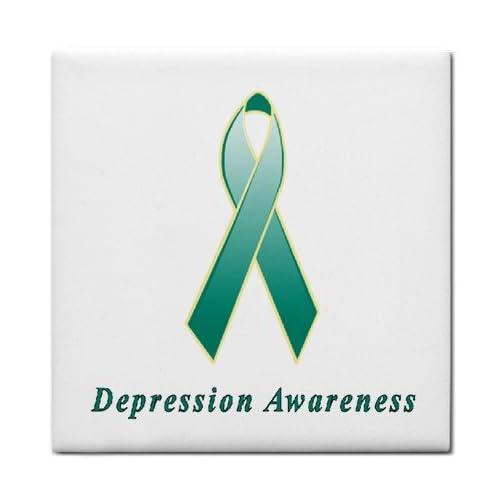 Amazon.com: Depression Awareness Ribbon Tile Trivet