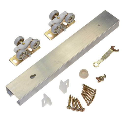 100PD Commercial Grade Pocket Sliding Door Hardware 96 Heavy Duty