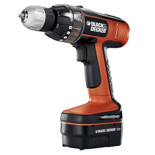 Black & Decker BD12PSK 12-Volt Smart Select Drill