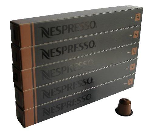 Get 50 Cosi Nespresso Capsules Espresso Lungo Nestle by Nestle