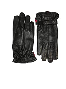 Hugger Classic Lined Riding Glove Medium Black