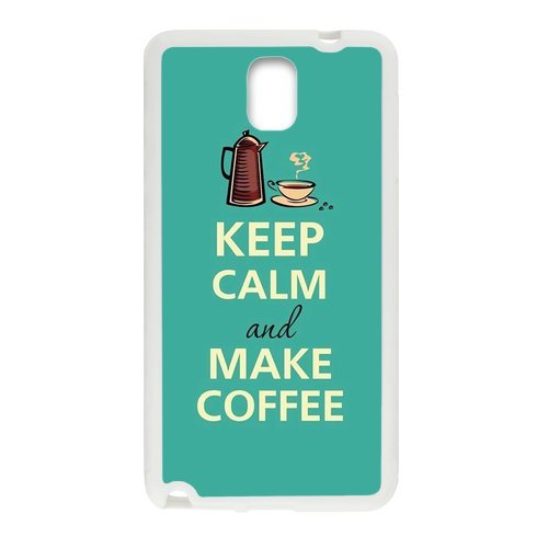 Generic Keep Calm And Make Coffee Design Case Plastic And Tpu Case Cover For Samsunggalaxy Note3 (Laser Technology)