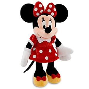 Disney Minnie Mouse Plush Toy -- 17''