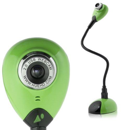 Kamera: USB Dokumentenkamera und Webcam mit eingebautem Mikrofon für Windows & Mac (grün)