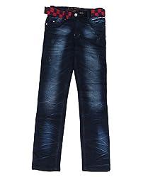 DUC Boy's Denim Navy Blue Jeans (kd07-nb-38)