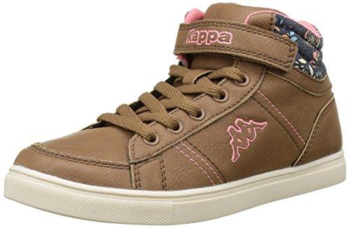 kappa-barky-sneakers-hautes-fille-marron-923-brown-pink-38-eu