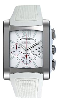 Ebel Women's 9126M52/164WC35 Brasilia Silver Chronograph Dial Watch