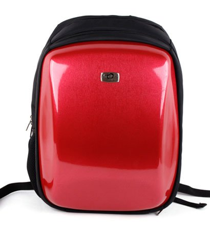 Asus 15.6 inch Notebook Laptop UL50AG-RSTBK03 Black with Red Airport Checkpoint Friendly Reinforced Hard Backpack Caase with Inside Pockets for accessories