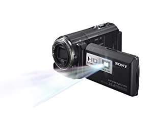 Sony HDRPJ580V High Definition Handycam 20.4 MP Camcorder with 12x Optical Zoom, 32 GB Embedded Memory and Built-in Projector (2012 Model)