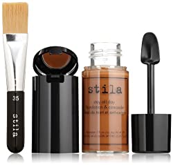 stila Stay All Day Foundation Concealer & Brush Kit Cocoa