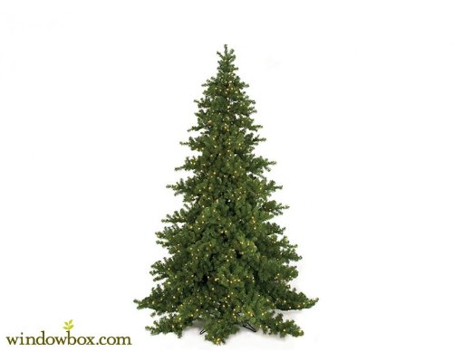 Nikko Artificial Fir Pre Lit Christmas Tree - 9 FT Nikko Christmas Tree
