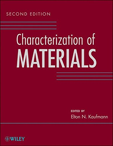 Characterization of Materials, 3 Volume Set
