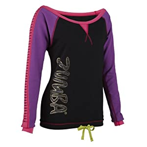 Zumba Fitness Already Torn T-Shirt manches longues femme Cut N Paste Purple FR : S (Taille Fabricant : S)