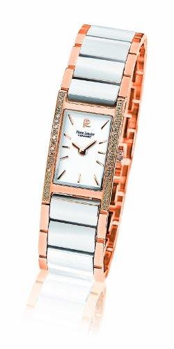 Pierre Lannier - 053G909 - Montre Femme - Quartz Analogique - Cadran Blanc - Bracelet Céramique Blanc