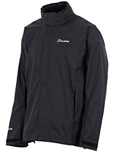 Berghaus Men's Gore Tex Paclite III Shell Jacket - Black/Black, Medium