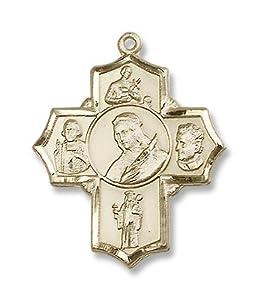 14kt Gold Philomena/Vian/Bos/Jude/Ger Medal
