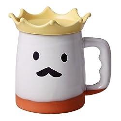 常滑焼 ビールの王様 ジョッキ(ホワイト) SAN1549-W