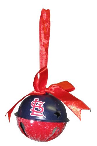 St Louis Cardinals MLB Baseball Metal Glitter Bell Holiday Christmas Ornament at Amazon.com