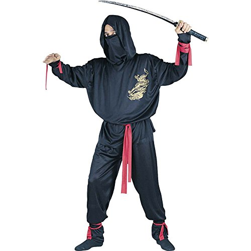 Ninja Fighter Costume - Standard - Chest Size 33-45 front-1043225