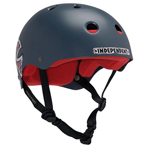 PROTEC Original Classic Skate Helmet, Independent, Navy Blue, Small