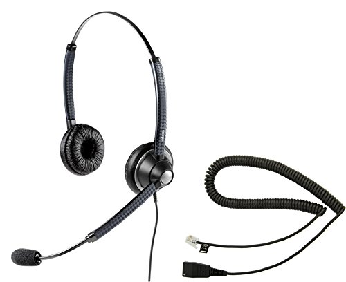 Cisco Compatible Jabra BIZ 1925 Direct Connect Headset Bundle (Headset and Telephone Interface Cable) 7900 Series Cisco (7940, 7960, 7965) | 6900 Series - 6921, 6941, 6945, 6961 | 8900 Series - 8941, 8945, 8961 | 9900 Series -9951, 9971 (Direct Microphone compare prices)