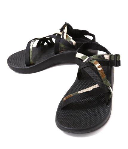 Chaco(チャコ)Ms ZX1 Yampa-CAMO (サンダル チャコ 靴 chaco ネイビー) fs04gm US9 カモブラック