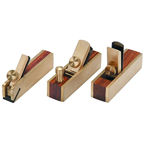 (Ship from USA) NEW 3 PIECE MICRO MINI BRASS HAND PLANE SET WOOD PLANER HARDWOOD HOBBY SCRAPPER /ITEM NO#8Y-IFW81854148318