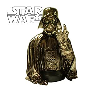 Star Wars: MBNA Galactic Rewards Exclusive Darth Vader Chrome Mini-Bust