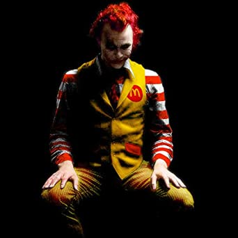 McJoker Batman and Joker inspired movie t-shirt (s-xxl) (small)