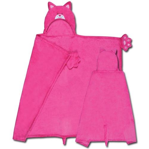 Stephen Joseph Kids Hooded Blanket - Cat