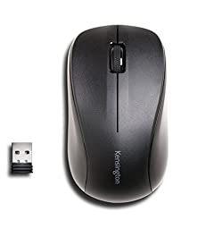 Kensington Silent Mouse-for-Life Wireless USB Mouse - Black (K72392US)