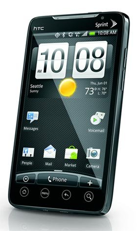 Sprint HTC Evo 4g Android