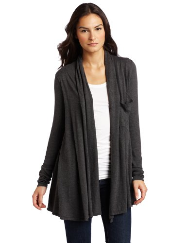 D.E.P.T. Women's Organic Shawl Cardigan Sweater