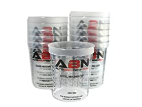 32 Ounce PAINT MIX CUPS - Calibrated Mixing Ratios on Side of Cup - 12 PACK of Paint and Epoxy Mixing Cups