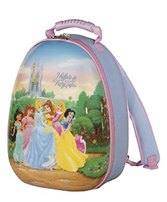 Heys USA Luggage Disney Princess Hybrid Backpack, Princess, 16 Inch