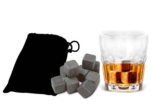 Whiskey Stones – Premium Liquor Chilling Stones – Made of 100% Soapstone