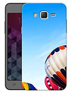 "Humor Gang Hot Air Balloons In The Sky Printed Designer Mobile Back Cover For ""Samsung Galaxy Grand 2"" (3D, Matte, Premium Quality Snap On Case)"