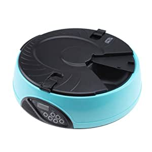 Amazon Com Automatic Pet Feeder 6 Meal Timer Food
