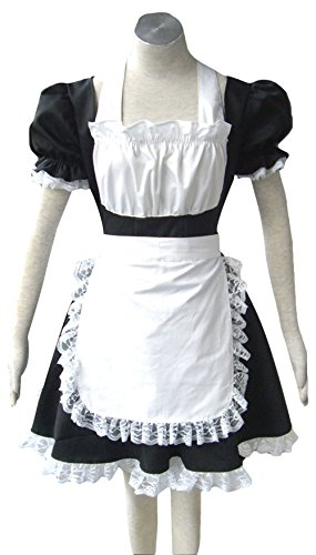 JustinCostume Cosplay Coffee French Maid Adult Halloween Costumes