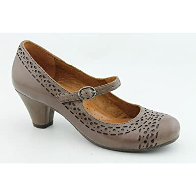 Naya Castalia Color: Lunar Taupe Leather Width: Narrow Womens Size: 9.5