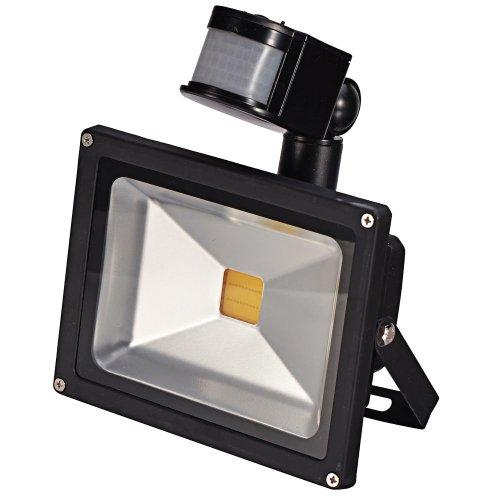 Mudder 20W Pir Infrared Body Motion Sensor Warm White Led Flood Light Induction Sense Landscape Lamp Floodlight 85-265V Ip65 45Mil