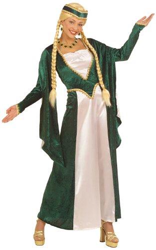 Widmann 5714M Abito Costume Medievale Lady E Il Copricapo, Taglia Xl