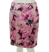 Jones New York Silk Blend Skirt