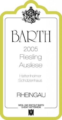 2005 Barth Riesling Auslese Schützenhaus - Noble Sweet 750 Ml
