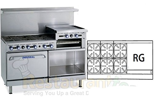 Imperial-Commercial-Restaurant-Range-60-With-6-Burner-24-Raised-Griddle-2-Oven-Nat-Gas-Ir-6-Rg24-Cc
