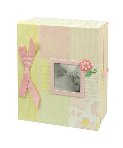 C.R. Gibson Keepsake Chest, Lulu front-14215