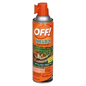 off yard deck spray area repellent outdoor fogger 16 oz pack of