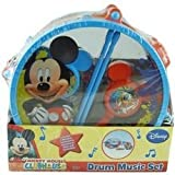 Ddi - Disney Mickey Mouse Toy Drum Music Set (1 pack of 4 items)