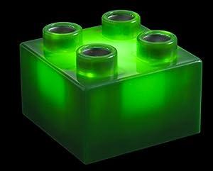Light Stax® Zusatzsteine grün, Inhalt: 6 Stück