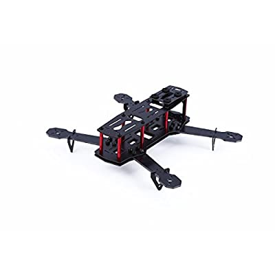 YKS DIY Glass Fiber Mini 250 Quadcopter Frame Kit for FPV Multirotor Part